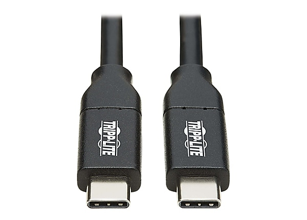 Tripp Lite USB Type C to USB C Cable USB 2.0 5A Rating USB-IF Cert M/M 2M