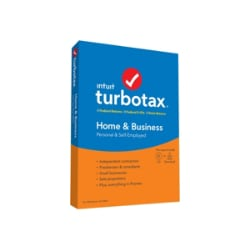 TurboTax Home & Business for Tax Year 2019 - box pack - 1 user