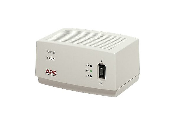 APC Line-R 1200VA - automatic voltage regulator - 1200 VA