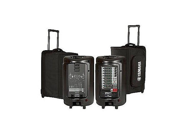 Yamaha YBSP600i - rolling case for portable audio system