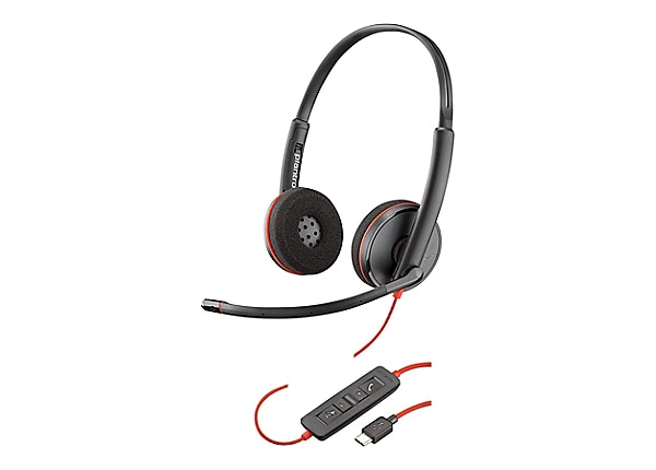 Poly Blackwire C3220 USB - headset