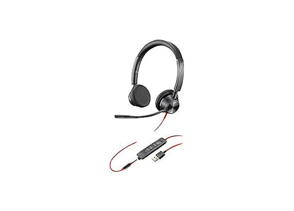 Poly Blackwire 3325 - Microsoft Teams - headset