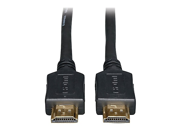 Tripp Lite HDMI Cable High-Speed Ethernet 4K No Booster CL2 M/M Black 45ft