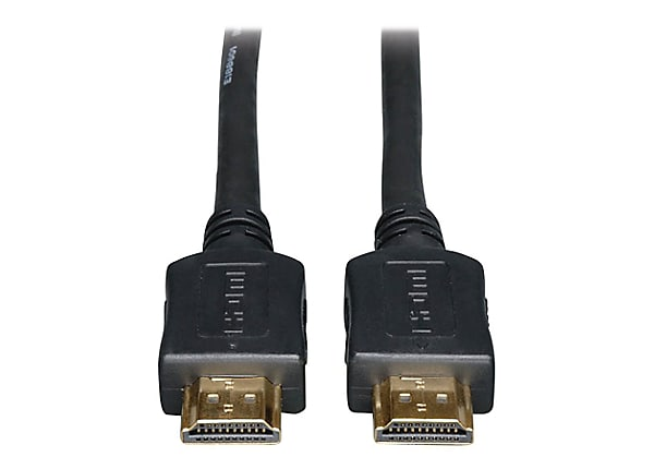 Tripp Lite HDMI Cable High-Speed Ethernet 4K No Booster CL2 M/M Black 50ft