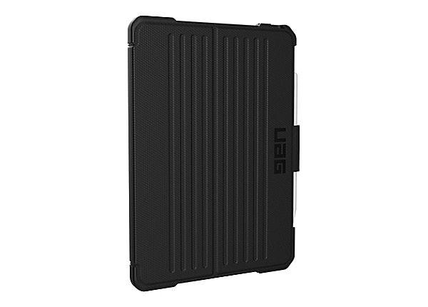 UAG Rugged Case for iPad Pro 11 (2nd Gen, 2020) - Metropolis Black - flip c