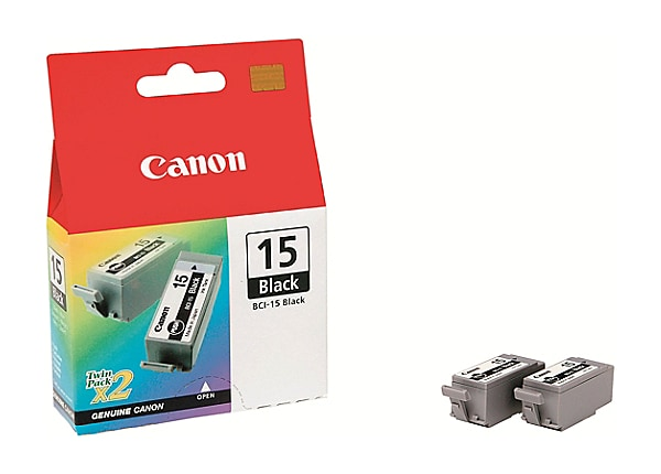 Canon BCI-15 - 2-pack - yellow, cyan, magenta - original - ink tank