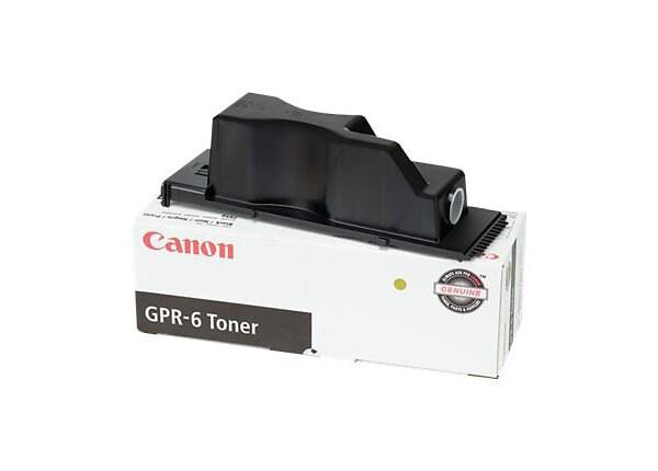 Canon 6647A003AA (GPR-6) Black Laser Toner Cartridge