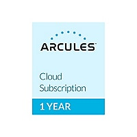 Arcules Cloud for small organizations - subscription license (1 year) - 14