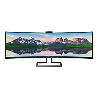 """Philips Brilliance P-line 499P9H - LED monitor - curved - 49"""""""