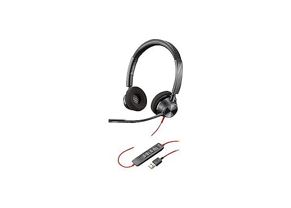 Poly Blackwire 3320 - headset