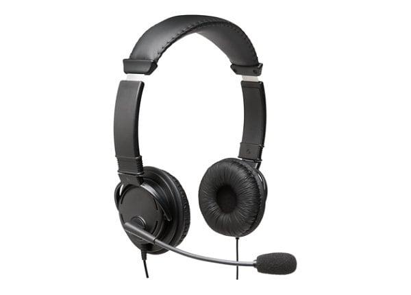 Kensington USB Hi-Fi Headphones with Mic - headset