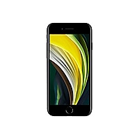 Apple iPhone SE (2nd generation) - black - 4G - 128 GB - CDMA / GSM - smart