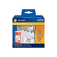 Brother DK-1247 - die cut shipping paper labels - 180 label(s) - 103,4 x 16