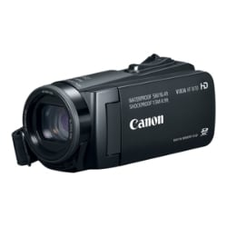 Canon VIXIA HF W10 - camcorder - storage: flash card