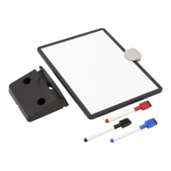 Tripp Lite Magnetic Dry-Erase Whiteboard with Stand - VESA Mount, 3 Markers