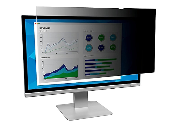 "3M Privacy Filter for 24"" Widescreen Monitor (16:10) - display privacy filt"