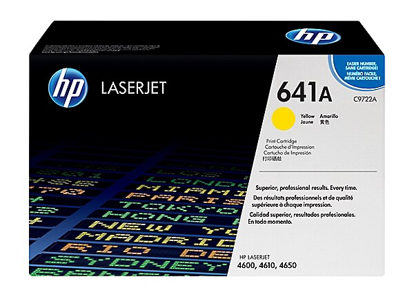 HP Color LaserJet C9722A Yellow Toner Cartridge