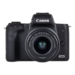 Canon EOS M50 - digital camera EF-M 15-45mm IS STM and 55-200mm IS STM lens