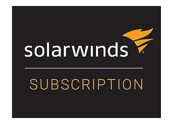 SolarWinds Security Event Manager - subscription license (1 year) - up to 5
