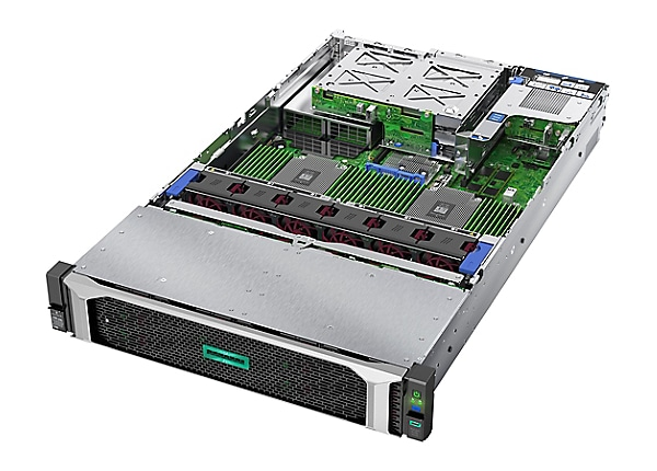 HPE ProLiant DL385 Gen10 Entry - rack-mountable - EPYC 7252 3.1 GHz - 16 GB