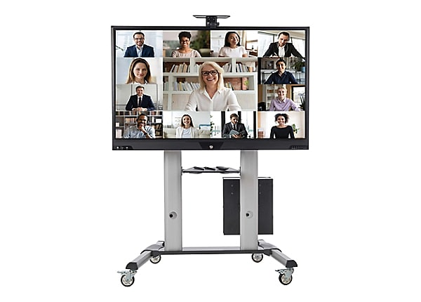 """Tripp Lite Mobile Interactive Display Stand Cart Lithium-Ion Battery 4K 65"""""""