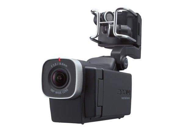 Zoom Q8 - camcorder - storage: flash card