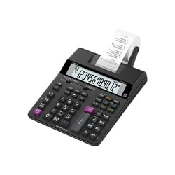 Casio HR-200RC - printing calculator