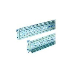 Rittal TS rack rail with flange