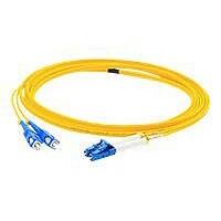 Proline 2m FC (M) to LC (M) Yellow OS2 Duplex Fiber OFNR Patch Cable