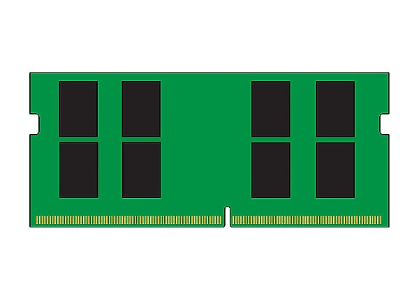 Kingston ValueRAM - DDR4 - module - 16 GB - SO-DIMM 260-pin - 3200 MHz / PC