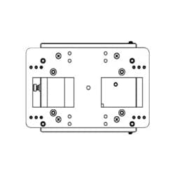 Ventev wireless access point mounting adapter plate