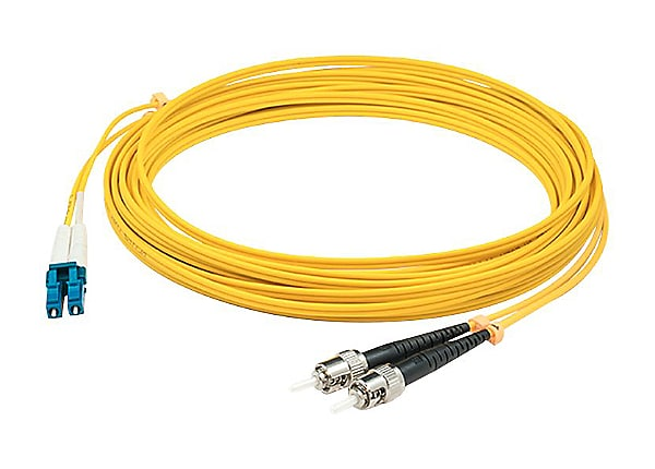 AddOn 15m LC to ST OS1 Yellow Patch Cable - patch cable - 15 m - yellow