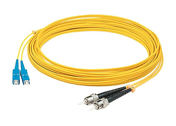 AddOn 15m SC to ST OS1 Yellow Patch Cable - patch cable - 15 m - yellow