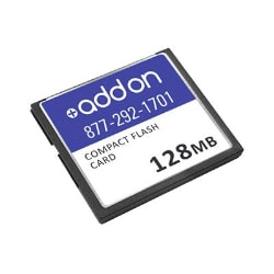 AddOn 128MB Cisco Compatible Compact Flash - flash memory card - 64 MB - Co