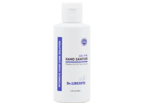 Dr. Libeaute 3.4oz. Gel Squeeze Bottle All Natural Hand Sanitizer 18pk