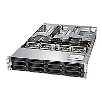 Supermicro SuperServer 6029U-TRT - rack-mountable - no CPU - 0 GB