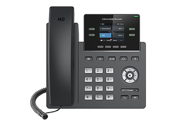 Grandstream GRP2612 - VoIP phone with caller ID/call waiting - 3-way call c