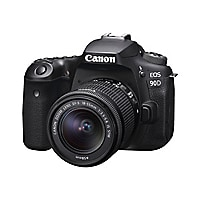 Canon EOS 90D - Video Creator Kit - digital camera EF-S 18-55mm IS STM lens