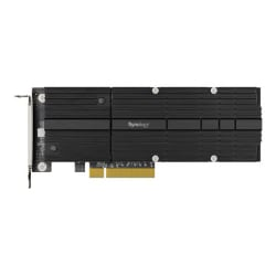 Synology M2D20 - interface adapter - M.2 NVMe Card - PCIe 3.0 x8