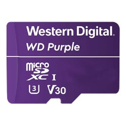 WD Purple WDD128G1P0A - flash memory card - 128 GB - microSDXC