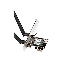 SIIG WiFi 6 Dual Band Ethernet PCIe Card - AC3000 - network adapter