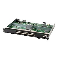 HPE Aruba 6400 - expansion module - 100M/1G/10 Gigabit Ethernet x 24 + 1Gb