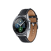 Samsung Galaxy Watch 3 - mystic silver - smart watch with band - 8 GB - not