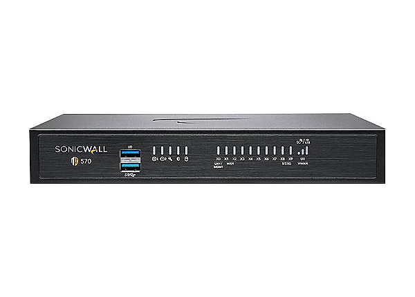 SonicWall TZ570W - security appliance - with 1 year Support Service 8x5