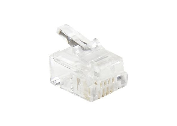 StarTech.com Flat Wire Crimp Type Connector - phone connector