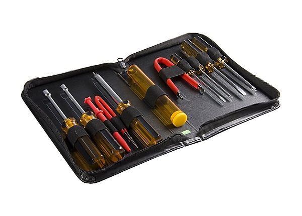 StarTech.com 11 Piece PC Computer Tool Kit with Carrying Case tool kit