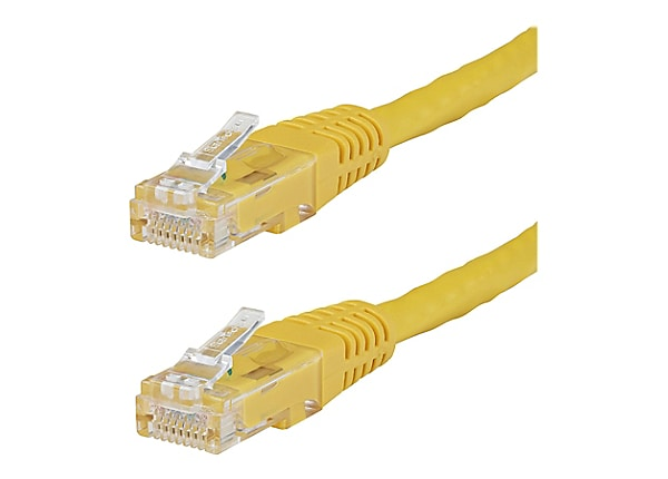 StarTech.com 25 ft Yellow Cat6 / Cat 6 Molded Patch Cable 25ft