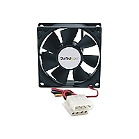 StarTech.com 80x25mm Dual Ball Bearing Computer Case Fan w/ LP4 Connector s