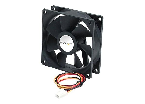 StarTech.com 92x25mm Ball Bearing Quiet Computer Case Fan w/ TX3 Connector