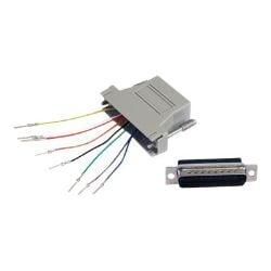 StarTech.com DB25 to RJ45 Modular Adapter - M/F - Serial adapter - DB-25 (M